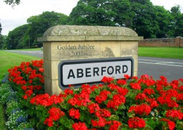 Aberford Village Sign (2)