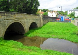 Beckside Bridge & Play Area