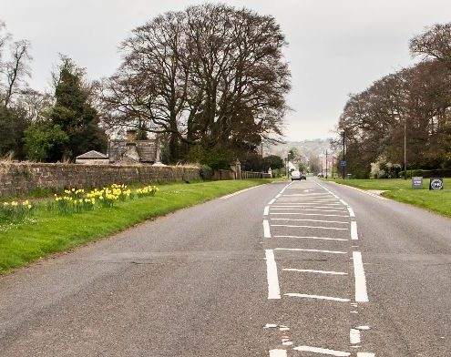 Road into Aberford