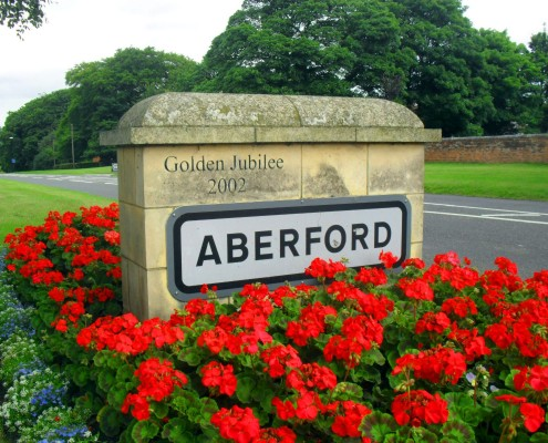Aberford Village Sign (2)